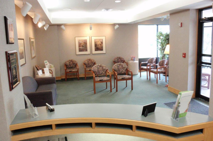 Waiting Area at Mahar Dental