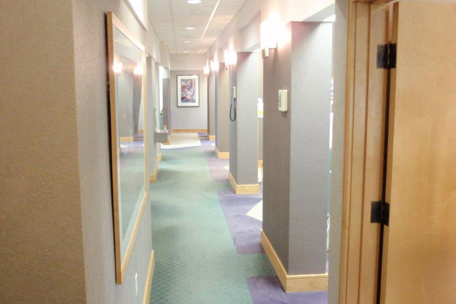 Hallway at Mahar Dental